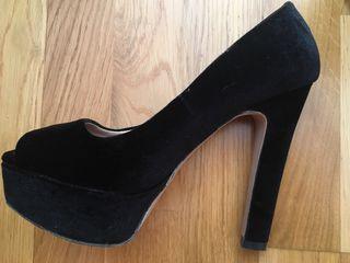 Zapatos ZARA Negros de ante