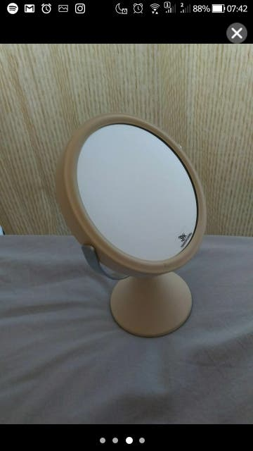New Make up white mirror 3x magnification