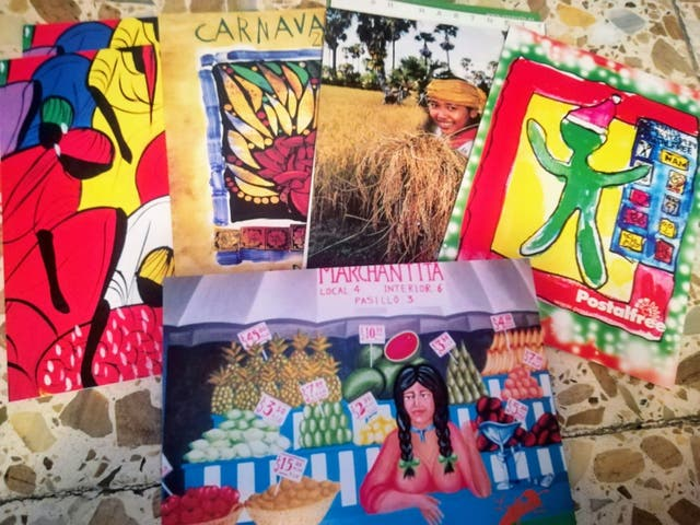 Más de 500 postales
