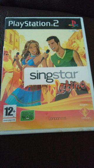 singstar latino ps2. play station 2