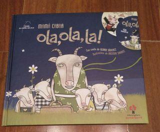 Libro infantil ola,ola,la! Mamá Cabra