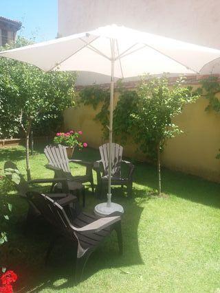 Sombrilla Jardin Leroy Merlin ...