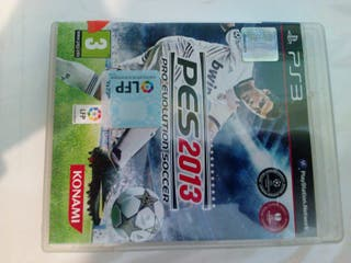 pes2013 ps3 playstation 3 pro evolution soccer