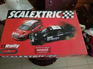 scalextric C1 Rally. Completo