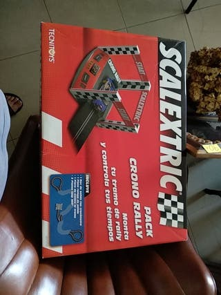 scalextric pack cromo rally
