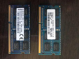 8 Gb de Memoria RAM para MAC