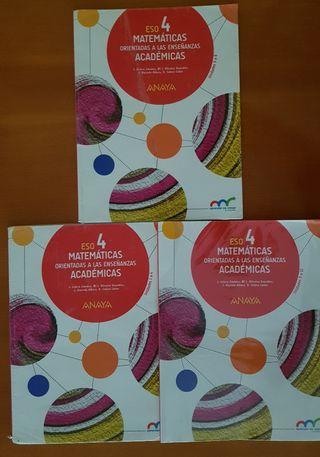 Libro Matematicas 4° ESO