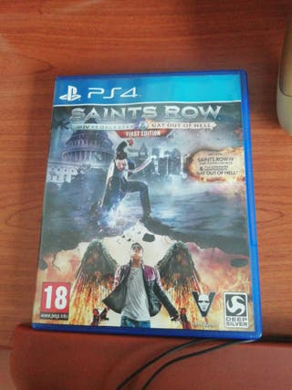 saints row ps4