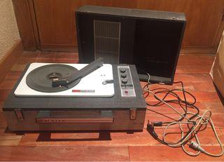 Tocadiscos portatil vintage kolster 1600