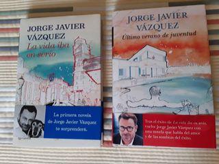 Libros Jorge Javier Vazquez