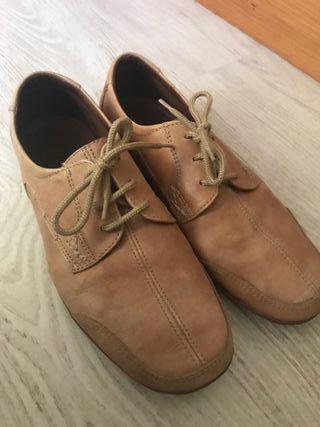 zapatos de piel hombre n41.