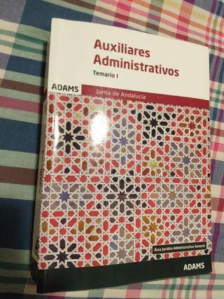 Temario oposiciones auxiliar administrativo 1