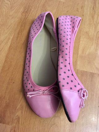 Bailarinas rosas con estrellas