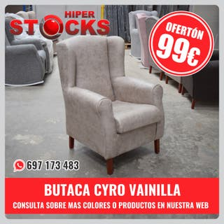 OFERTA BUTACA - CYRO VAINILLA