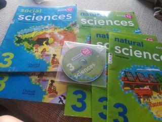libros primaria Oxford natural social