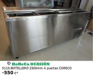 Botellero 2500mm 4 puertas CORECO