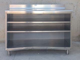 Moble d'inox 150cm