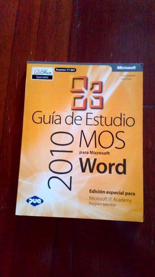 Guia de estudios MOS Word 2010
