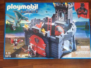 Segunda Playmobil Dragón Juguete Castillo Por Caballeros De Del Mano 4RLAj35cq