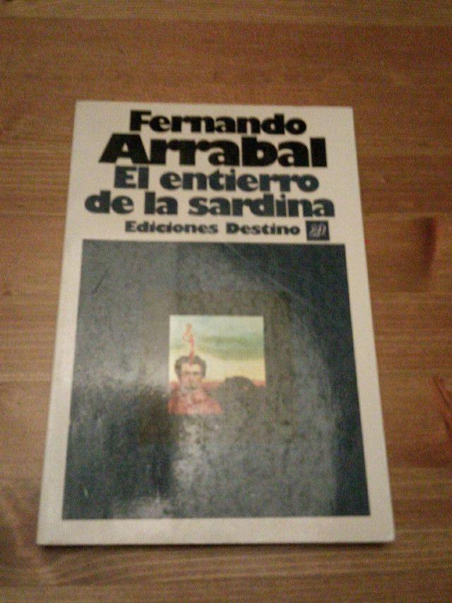 El entierro de la sardina - Fernando Arrabal