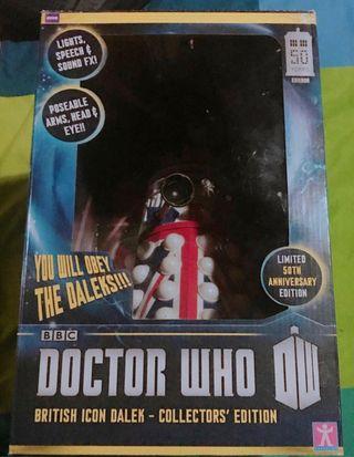 Doctor who dalek 50 aniversario limitado