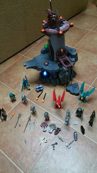 Playmobil dragones.