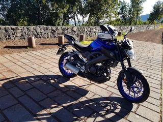 Moto Yamaha MT 125 cc. 15 cv. Abs. 2018