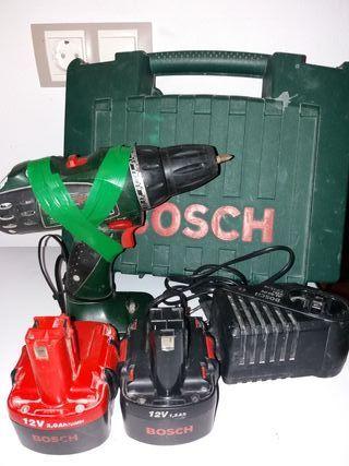 taladro atornillador bateria bosch