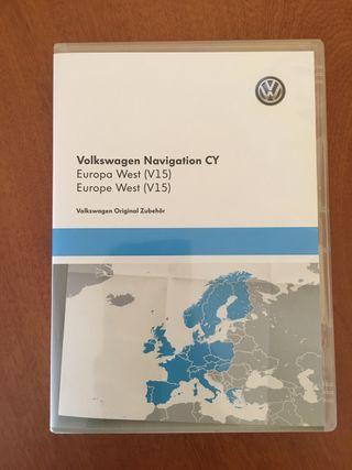 Mapas v15 VW Seat y Skoda ORIGINAL