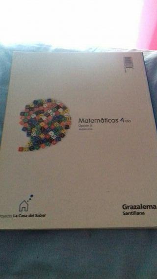Libro de Matemáticas 4°de la ESO.