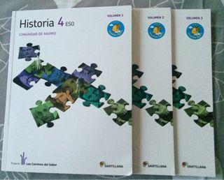 Libros Historia 4 ESO