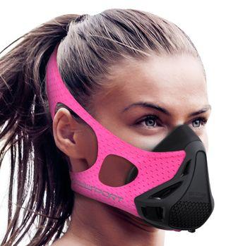 Mascara de entreno para chica crossfit