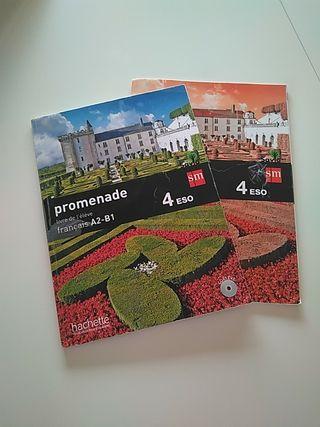 libro de texto francés ESO