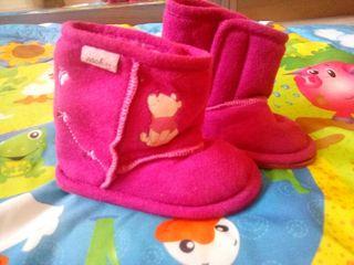 botas bebé niña invierno NUEVAS