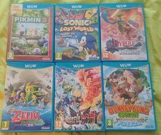 juegos Nintendo Wii U (precios en la descripcion)