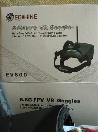 gafas para Dron
