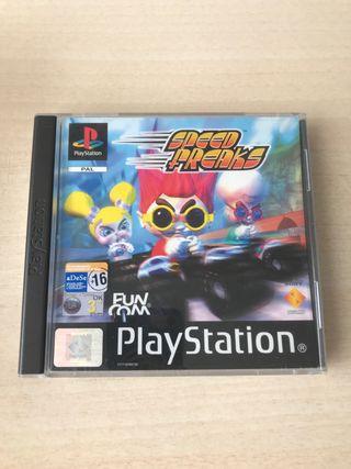 Speed Freaks PS1 PSX
