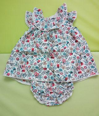 Vestido talla 3-6 meses marca Tizzas