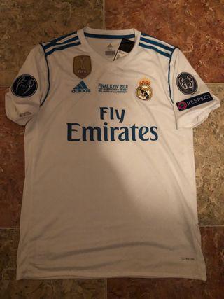 Camiseta Real Madrid Final 2018 Kiev Talla M