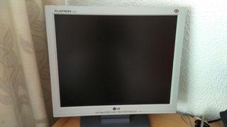 "Monitor ordenador LG 17"""