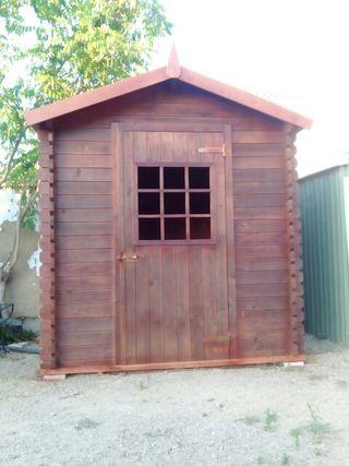 Caseta de madera.