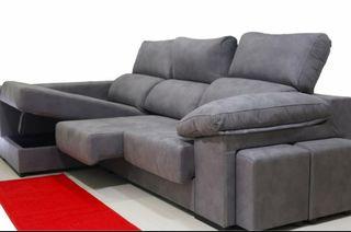 Sofás canapé dos pouff 580€