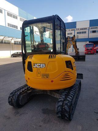 mini excavadora jcb