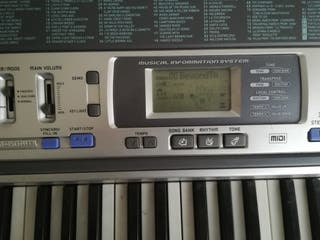 Teclado Casio Lk 100, sistema teclado aprendizaje