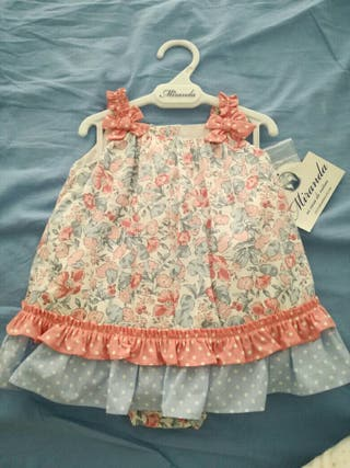 vestido miranda niña 6 meses