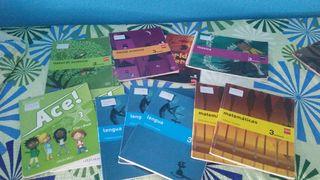 Libros tercero primaria cp la paloma