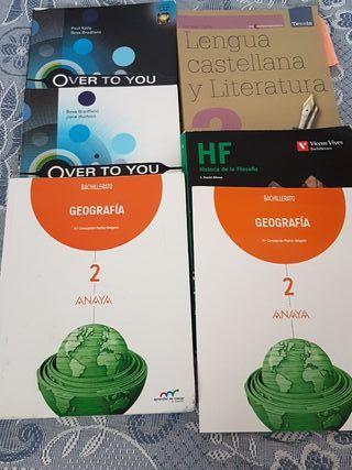 libros de texto 2° bto