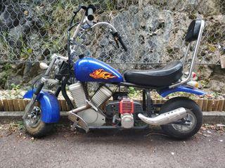 moto niño a gasolina