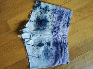 Shorts pull & bear sicodélicos
