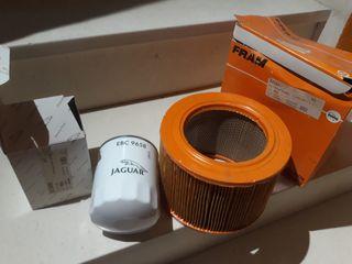 filtro de aceite y de aire jaguar